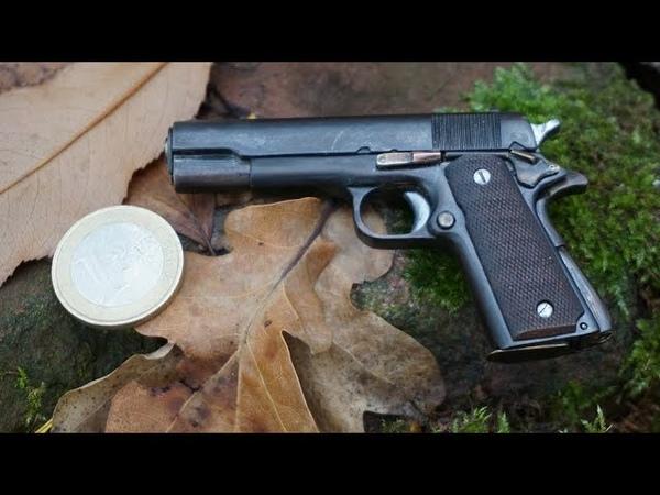 Miniature Colt 1911 final assembly