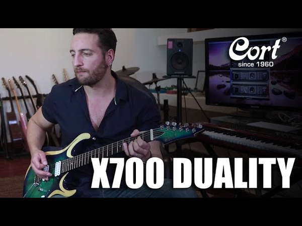 Rodrigo Rosales Plays the X700 Duality | Cort Electric Guitar