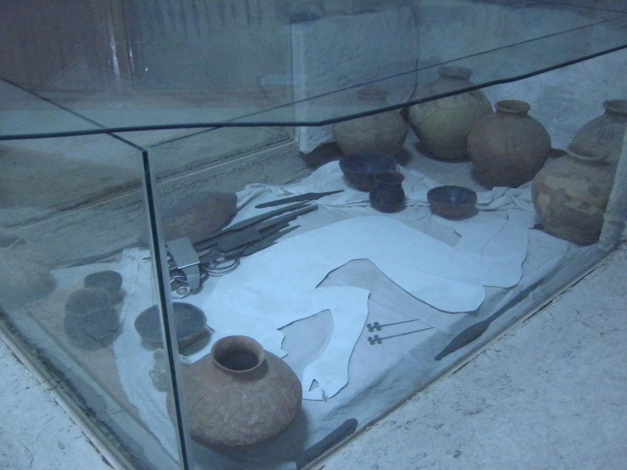 Реконструкция королевской гробницы в музее Малатья