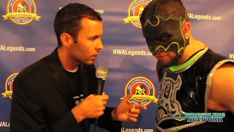 My1 Hurricane Helms VS Trevor Lee Cameron Grimes NWA Fanfest 2014