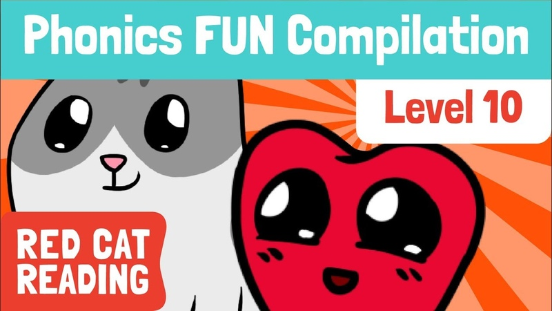Fun Phonics Level 10 wh ph le ay oy ~y ~y* How to Read Made by Red Cat Reading