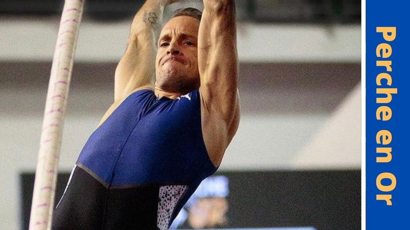 Renaud Lavillenie 6 02 m Perche en Or 1 tentative WR 6 20 m concours complet