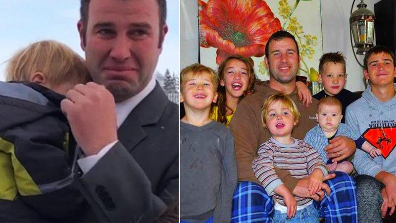 Вдовец с 7 детьми еле сводил концы с концами, однажды он получил письмо заставившее его плакать..