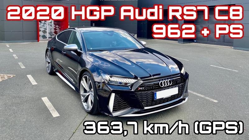 363 7 km h im HGP Audi RS7 C8 mit 962 PS Kurzer Fahreindruck 🚀🚀🚀 World's fastest Audi RS7