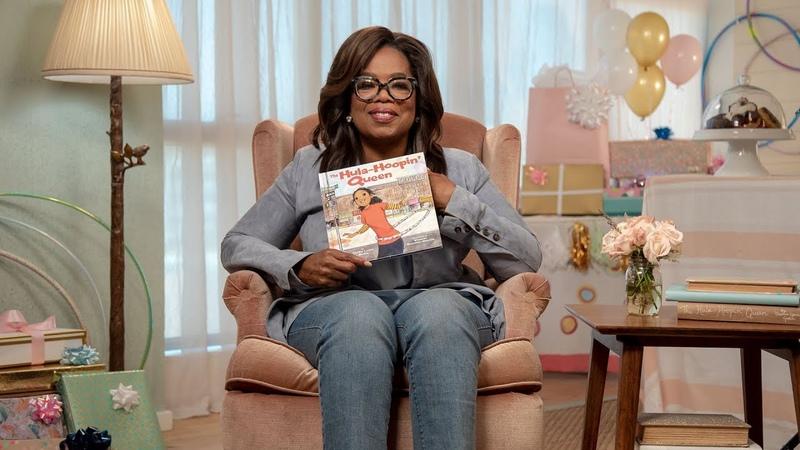 The Hula-Hoopin Queen read by Oprah Winfrey