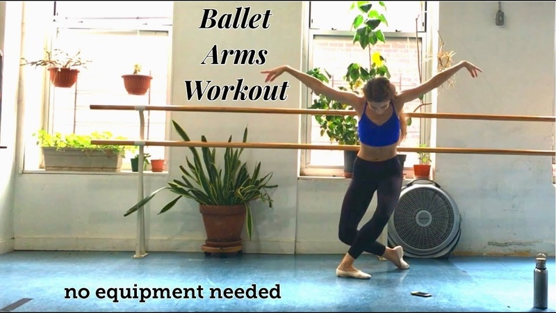 BALLET ARMS WORKOUT No Equipment Needed