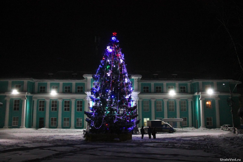 Ёлка в Горнозаводске