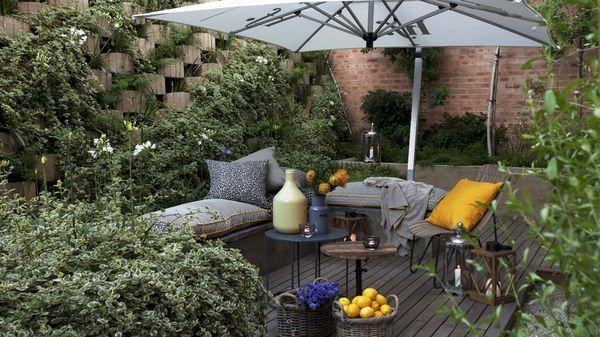 Как обустроить зону отдыха на даче. Полезные идеи.