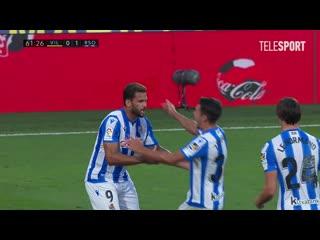 Вильярреал  Реал Сосьедад. Гол Виллиана Жозе