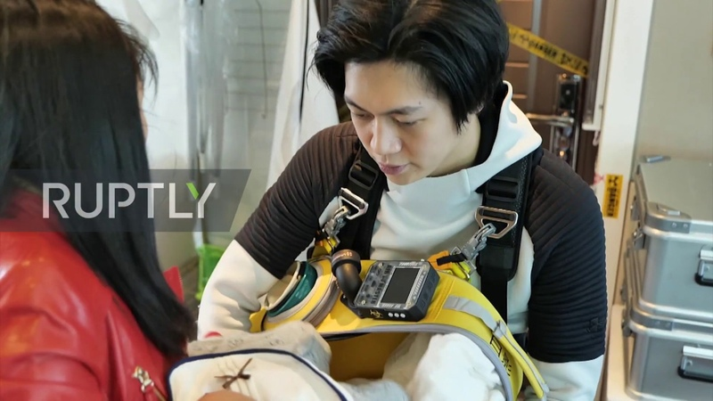 Chinese father creates Death Stranding suit to protect baby from coronavirus