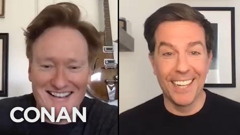 ConanAtHome Ed Helms Full Interview CONAN on TBS