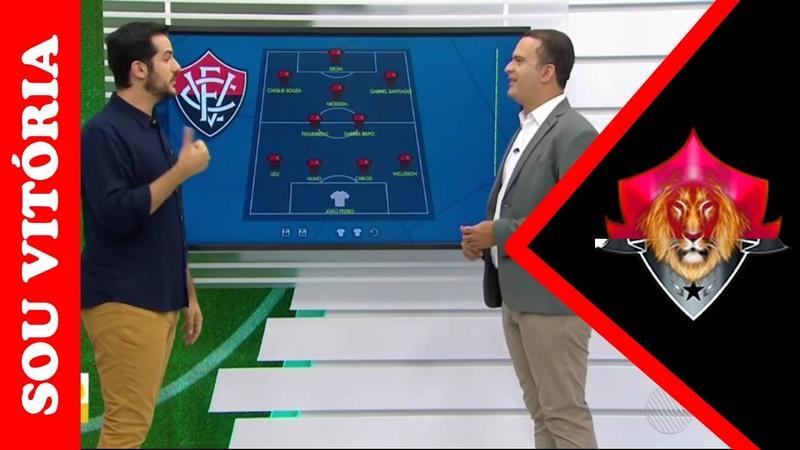 Vitória x Juazeirense confira o provável time do Vitória e do Juazeirense