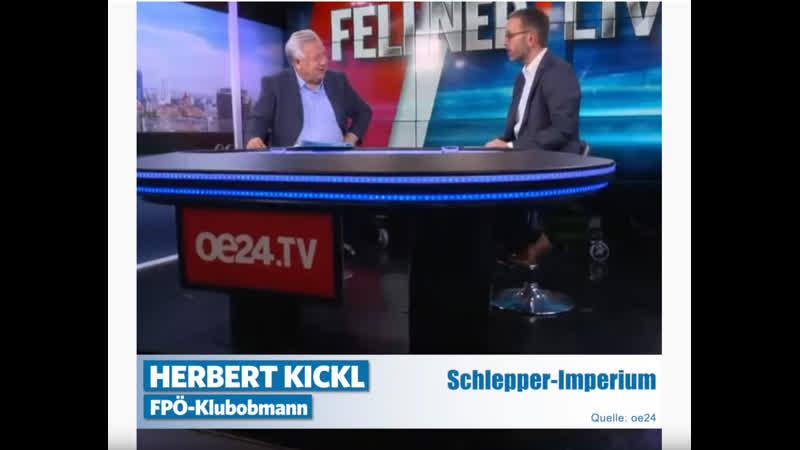 Herbert Kickl Das Schlepperimperium schlägt zurück