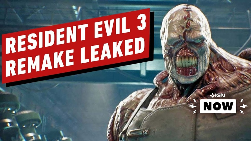 Resident Evil 3 Remake Cover Art Leaked IGN Now