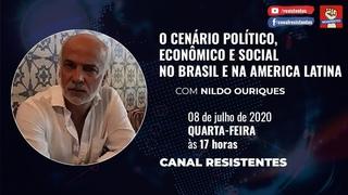 Nildo Ouriques e o cenário político, econômico e social no Brasil e na America Latina