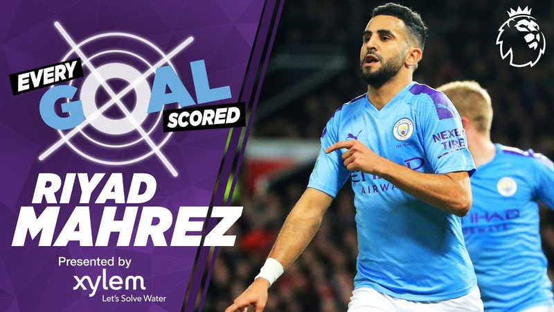 RIYAD MAHREZ | RAINING GOALS | EVERY PREMIER LEAGUE GOAL SCORED | MAN CITY