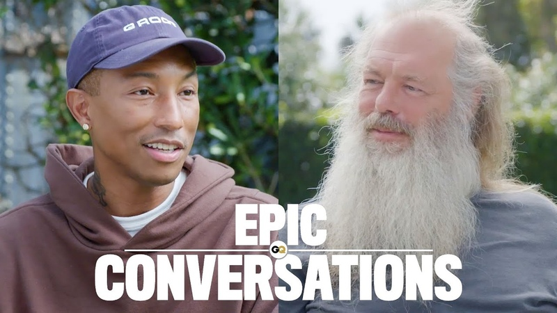 Pharrell and Rick Rubin Have an Epic Conversation GQ