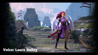 Dota 2 Wei Voice - Laura Bailey - Female Anti-Mage Persona - Over 900 lines