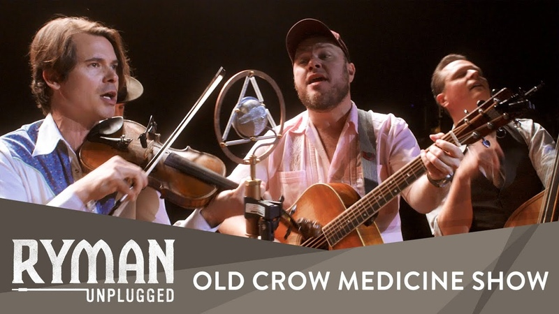 Old Crow Medicine Show Methamphetamine Ryman Unplugged Ryman Auditorium History Porn