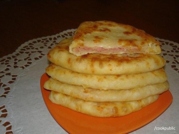 Сырные лепешки за 15 минут  Получаются очень сочные и...