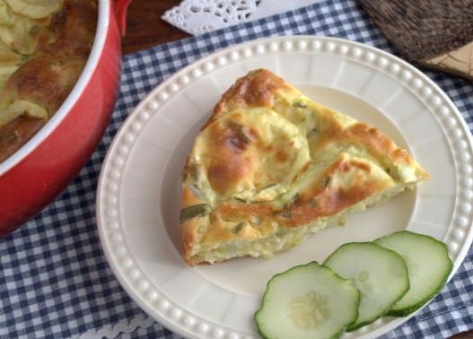 Тосканский пирог с кабачками и сыром