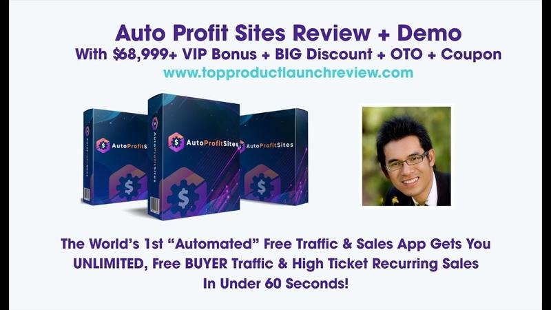 Auto Profit Sites Review Auto Profit Sites OTO Auto Profit Sites Bonus