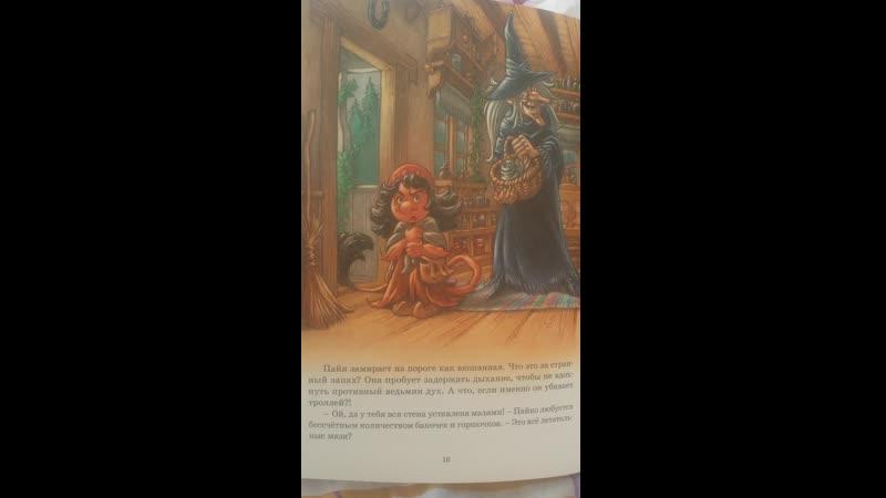 Читаю сыну Жили были тролли Полёт на метле Часть 2