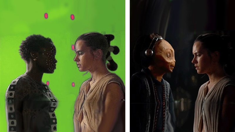 Amazing Before After Hollywood VFX Lucas Arts DNEG Stereo Iloura Part 4