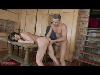 Gusenka - Ladies In Action [Amateur, Brunette, Blowjob, Cum on tits, Doggystyle, Riding, Mature, Hardcore]