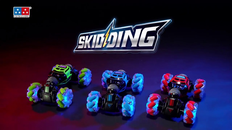 Skidding RC Stunt Car. Обзор!
