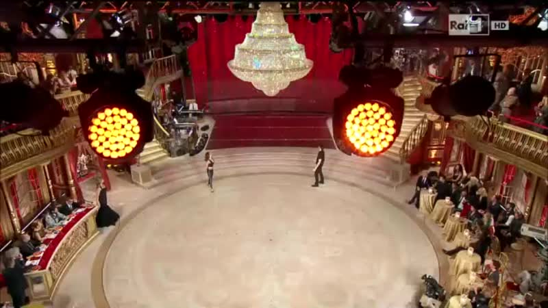 Ballando con le stelle 2014 Finalissima Il Reggae Dance Hall di Giulio