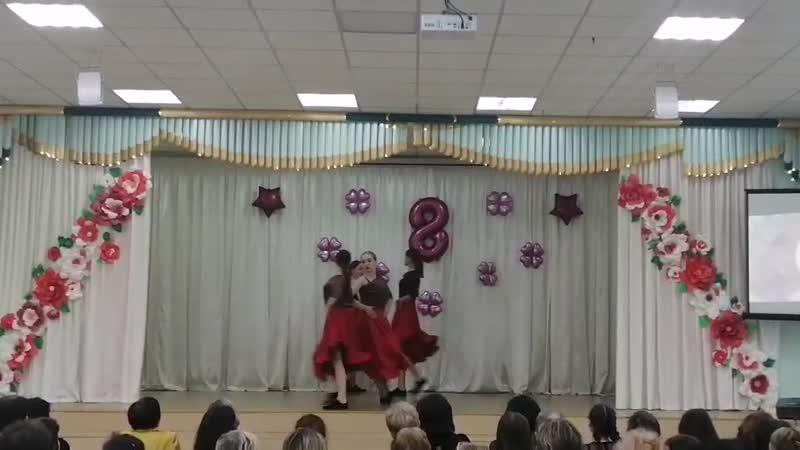 Хореографический ансамбль Карусель Школа № 72 г Самара В ритме танго