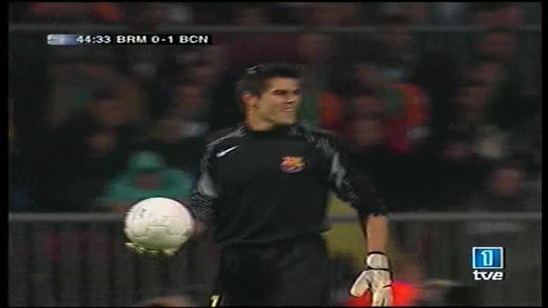 Champions league 2005-2006 - Grupo C - J1 - Werder Bremen-FC Barcelona