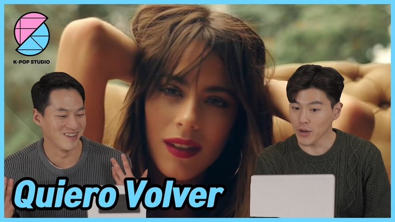 Reaccionado por los hombres coreanos TINI Sebastián Yatra Quiero Volver