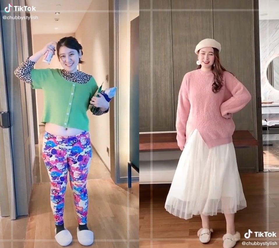 Блогер показывает, как меняется фигура, если к ней подобрать правильную одежду и это магия вне Хогвартса