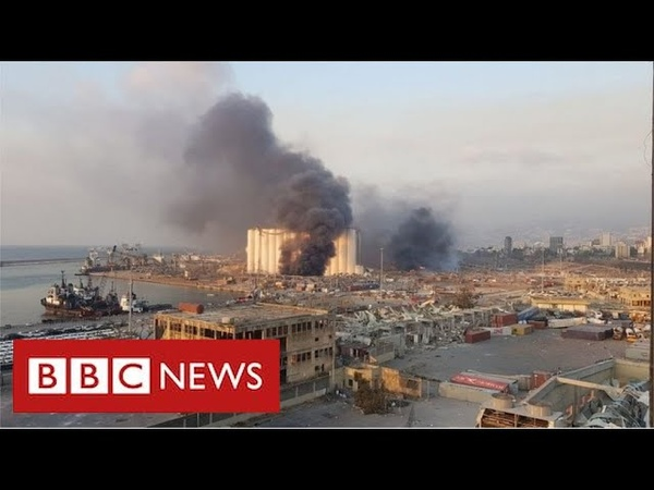 Massive explosion rips through Lebanese capital Beirut BBC News