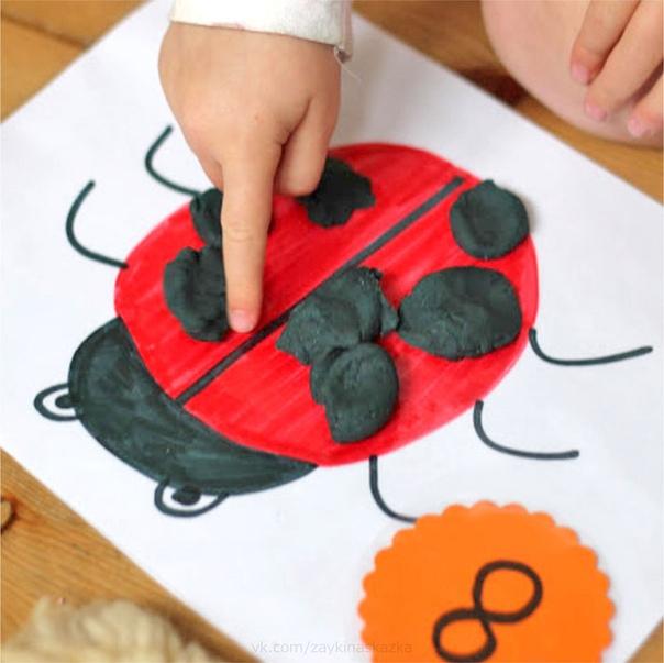 РАЗВИВАЮЩИЕ УПРАЖНЕНИЯ С ПЛАСТИЛИНОМ Для малышей. Учимся считать и тренируем мелкую моторику