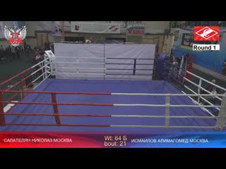 XXX Всероссийские соревнования по боксу памяти ЗТР А.Д. Щедеркина Капитонова и Кузина. Вечер