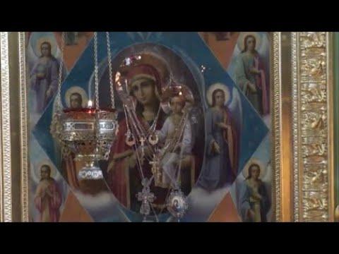 Акафист в честь иконы Божией Матери Неопалимая Купина в Ульяновске 19 02 2021г