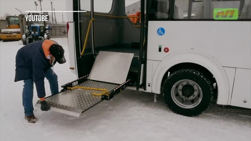 Принципиально новые автобусы уже в Нижневартовске