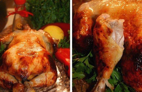 Секретная курица - вкусно, сочно, ароматно. Курица 1700 гСоль (морская крупная) 3 ст. л.Перец душистый (для маринада) 5-6 штПерец черный (горшком для маринада или молотый по вкусу при сухом