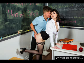 Naughty America - My First Sex Teacher / Audrey Noir & Jay Romero