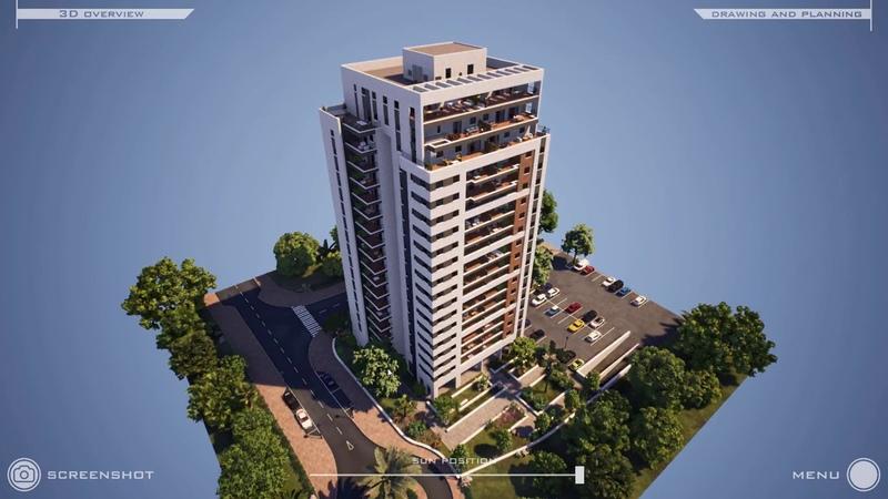 Architectural interactive demo UE4