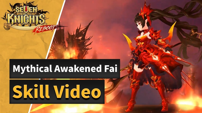 Seven Knights of Old Fai's Skills Preview
