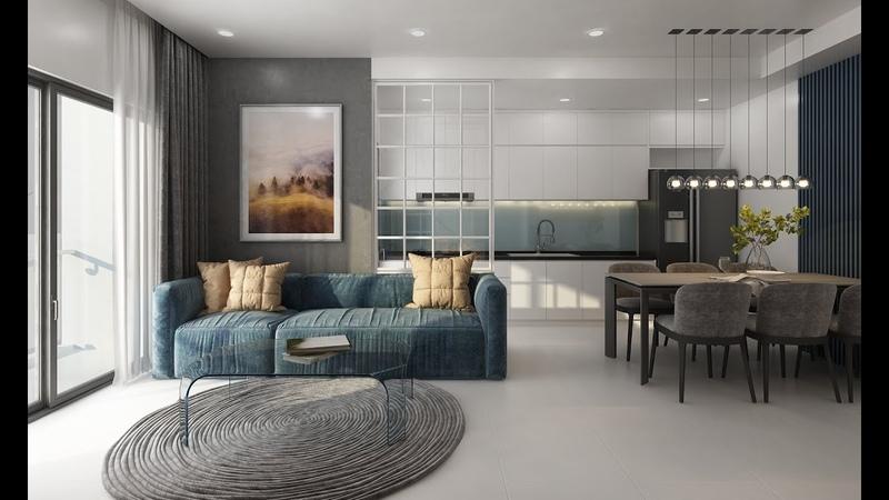 Thiết kế mẫu dành cho dự án căn hộ Grand View Bình Dương 090 295 79 38