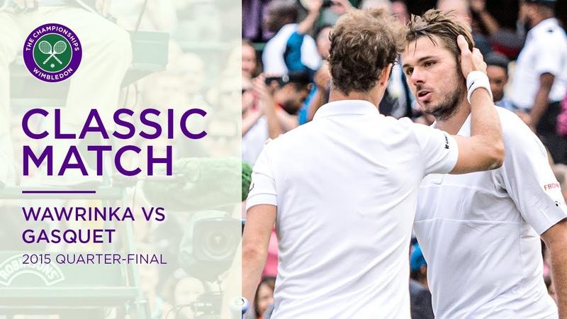 Stan Wawrinka vs Richard Gasquet 2015 Quarter final Replayed