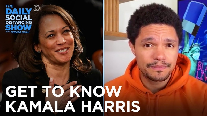 Kamala Harris The Person the Politician…and the Chef The Daily Social Distancing Show