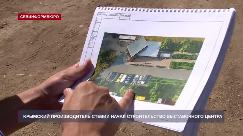 Крымский производитель стевии начал строительство крупного выставочного центра