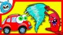 МАШИНКА ВИЛЛИ 8 - Сказка для детей. Мультик про машинки. Красная машинка на Чудики Мачудики