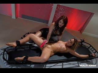 Zoey Monroe, Molly Stewart - Tickling Time Bomb [RealityKings] (1080p, Lesbian, Sex Toys, Vibrator, Bondage, Fetish, Squirt)